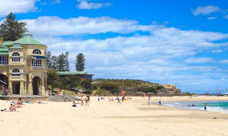 Cottesloe Beach in Perth.