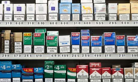 Cigarette store in New York