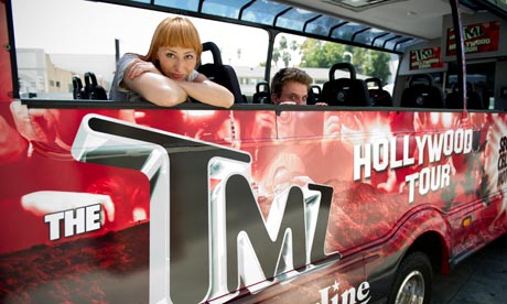 Follow the stars to hollywood travel the guardian for Tmz tours in los angeles