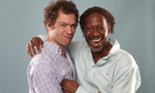 Dominic West, left, and Clarke Peters.