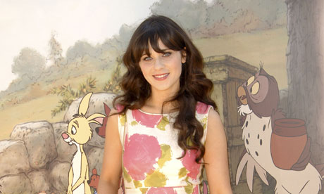 zooey deschanel 007 I'd have to pull out my comics from the cubby hole to show you what's behind ...