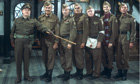The cast of sitcom Dad's Army