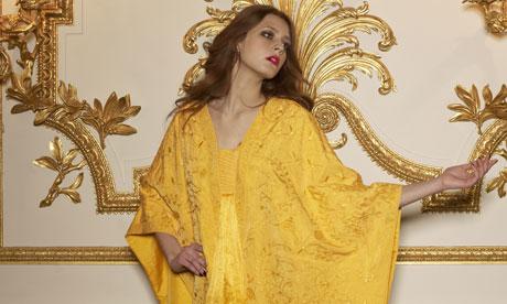 spider silk gown