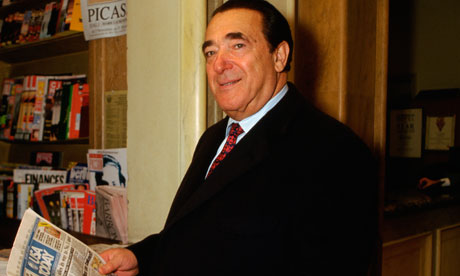 Publisher and Media Tycoon Robert Maxwell