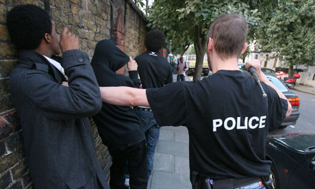 Police Stop and Search, London, Britain - May 2008