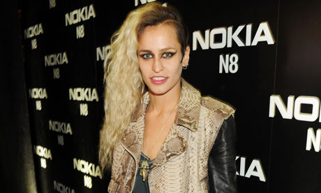 Alice Dellal sports the posh punk look. Photograph: Dave M.Benett/Getty ...
