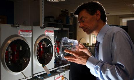Smart electric meter under test