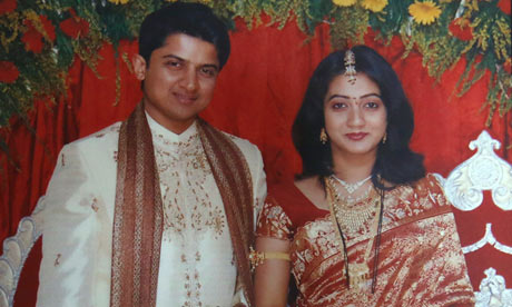 Praveen and Savita Halappanavar.