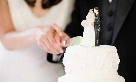 ... own take on their wedding ceremony. Photograph: Image Source/Corbis