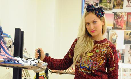 Sophia Webster shoe designer