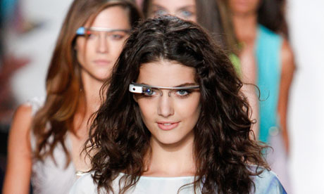 Google Glass augmented reality eyewear