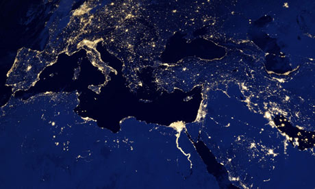 Nasa map night lights pics about space map of earth from space at gumiabroncs Images
