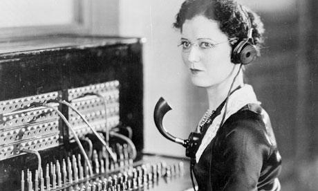 Bilder von Vintage Telefonzentralen