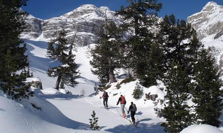 skiing tyrol