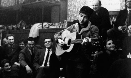 Bob Dylan in London in 1962. Photograph: Brian Shuel/Redferns