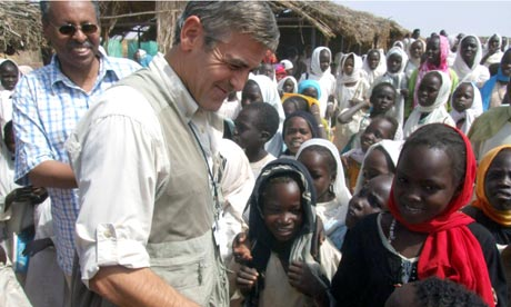 George Clooney in Darfur
