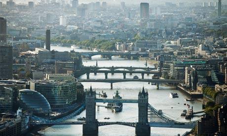 london river scene