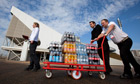 Coca-Cola drinks delivered to Olympics
