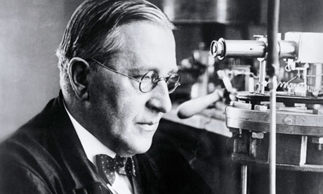 Portrait of Physics Scientist Victor Franz Hess