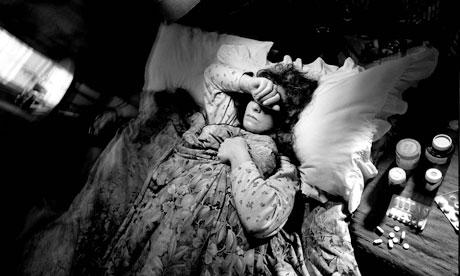 migraine woman