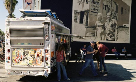 Kogi food truck in Los Angeles