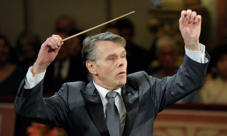 Mariss Jansons conducts in Vienna