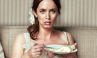 Emily Blunt in The Five-Year Engagement. Eating cake