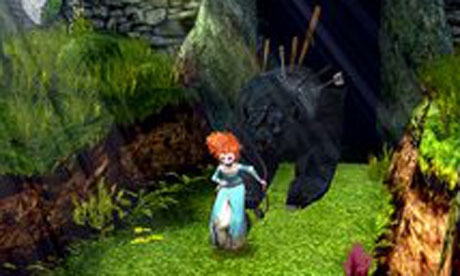 An angry bear and archery are neat added twists to Temple Run: Brave.