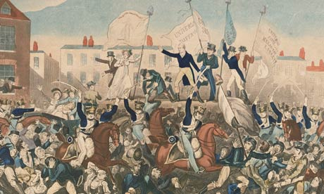 Peterloo Massacre, Kevin McKenna