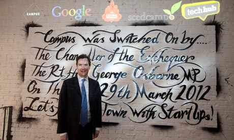 George Osborne opens Google Campus 