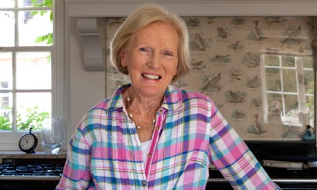 'It's all very peaceful and we want our contestants to do well': Mary Berry is back on our screens this week. Photograph: David Sandison/Eyevine 					 	      	    You've admitted in the past that you
