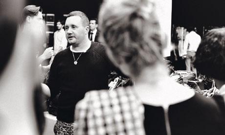 Kim Jones at Louis Vuitton show