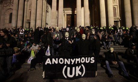 Occupy London Stock Exchange protest