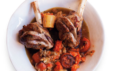 nigel slater lamb shanks midweek dinner