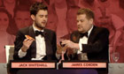 Jack Whitehall and James Corden