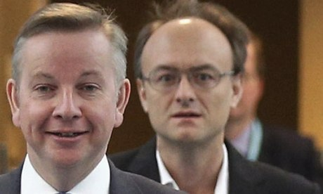 Dominic Cummings, Michael Gove