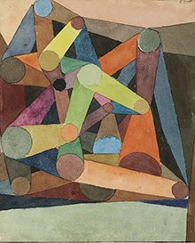 Opened Mountain 1914 Paul Klee
