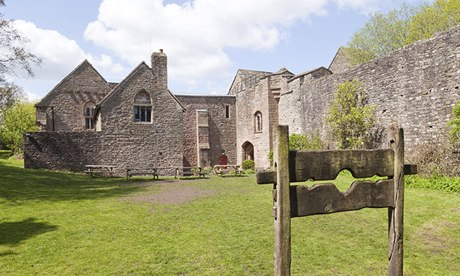 St Briavels Castle, now a YHA youth hostel, in the Forest of Dean, Gloucestershire