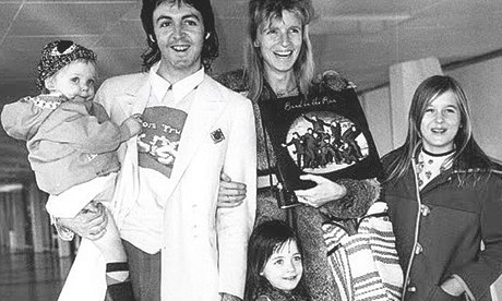 Beatrice Mccartney 2013 Get back  with linda mccartneyPaul Mccartney And Linda 2013