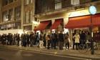 Restaurant queue