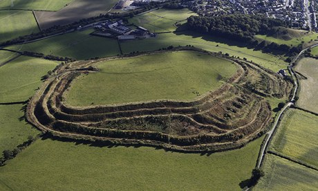Iron age hill fort