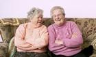 old ladies having a laugh