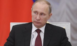 Vladimir Putin is outflanking the west at every turn