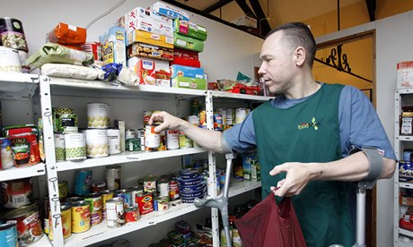 Trussell Trust food bank