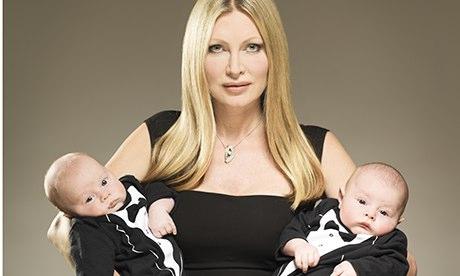 Caprice bourret babies 2014