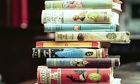Stack of PG Wodehouse hardcover books