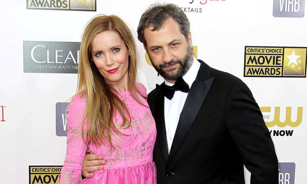 Leslie Mann and husband