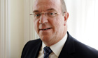 The NHS chief executive, Sir David Nicholson