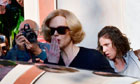 'Grace of Monaco' on set filming, Genoa, Italy - 16 Nov 2012