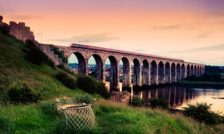 Royal Border railway viaduct